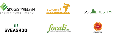 2015 Swedish Water House Forestry Cluster Group Logos